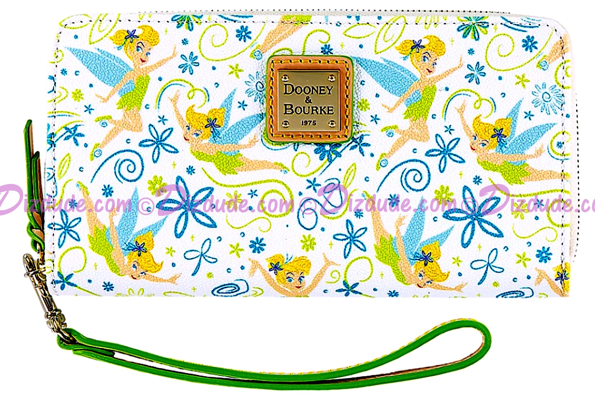 Dooney & Bourke Tinker Bell Floral Large Wallet With Phone Pocket - Disney World Exclusive © Dizdude.com