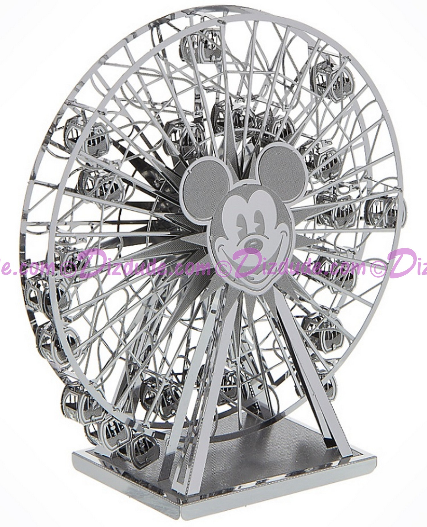Disneyland Mickey's Fun Wheel 3D Metal Model Kit - Disney Exclusive © Dizdude.com