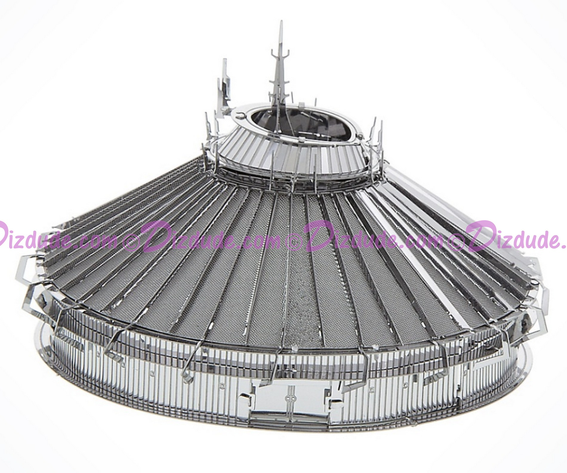Walt Disney World Space Mountain 3D Metal Model Kit - Disney Exclusive © Dizdude.com