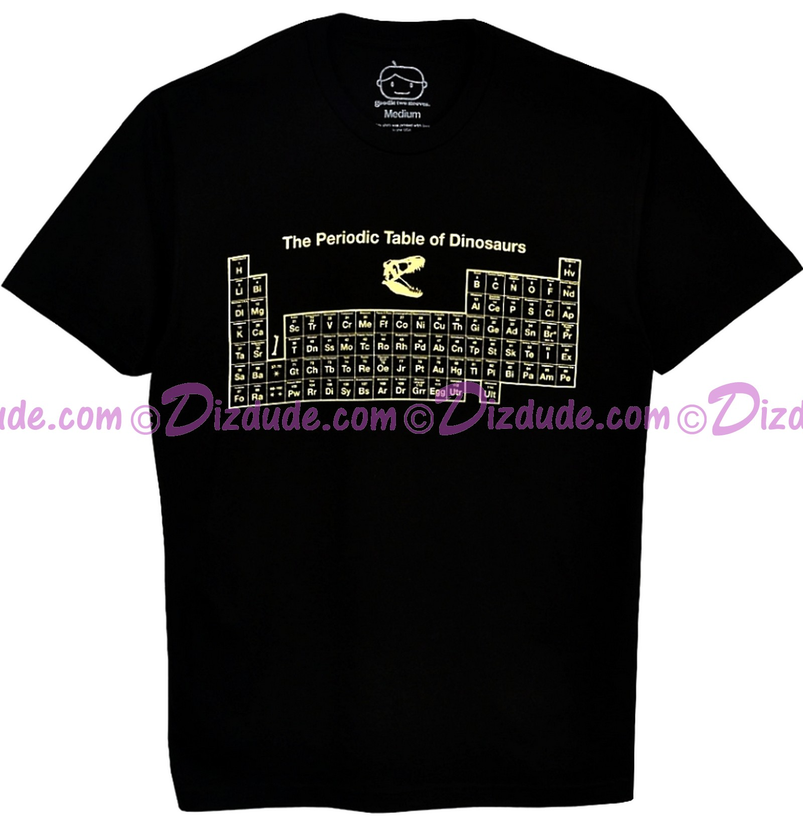 Periodic Table of Dinosaur Adult T-shirt (Tee, Tshirt or T shirt) - Disney Animal Kingdom Dino Institute