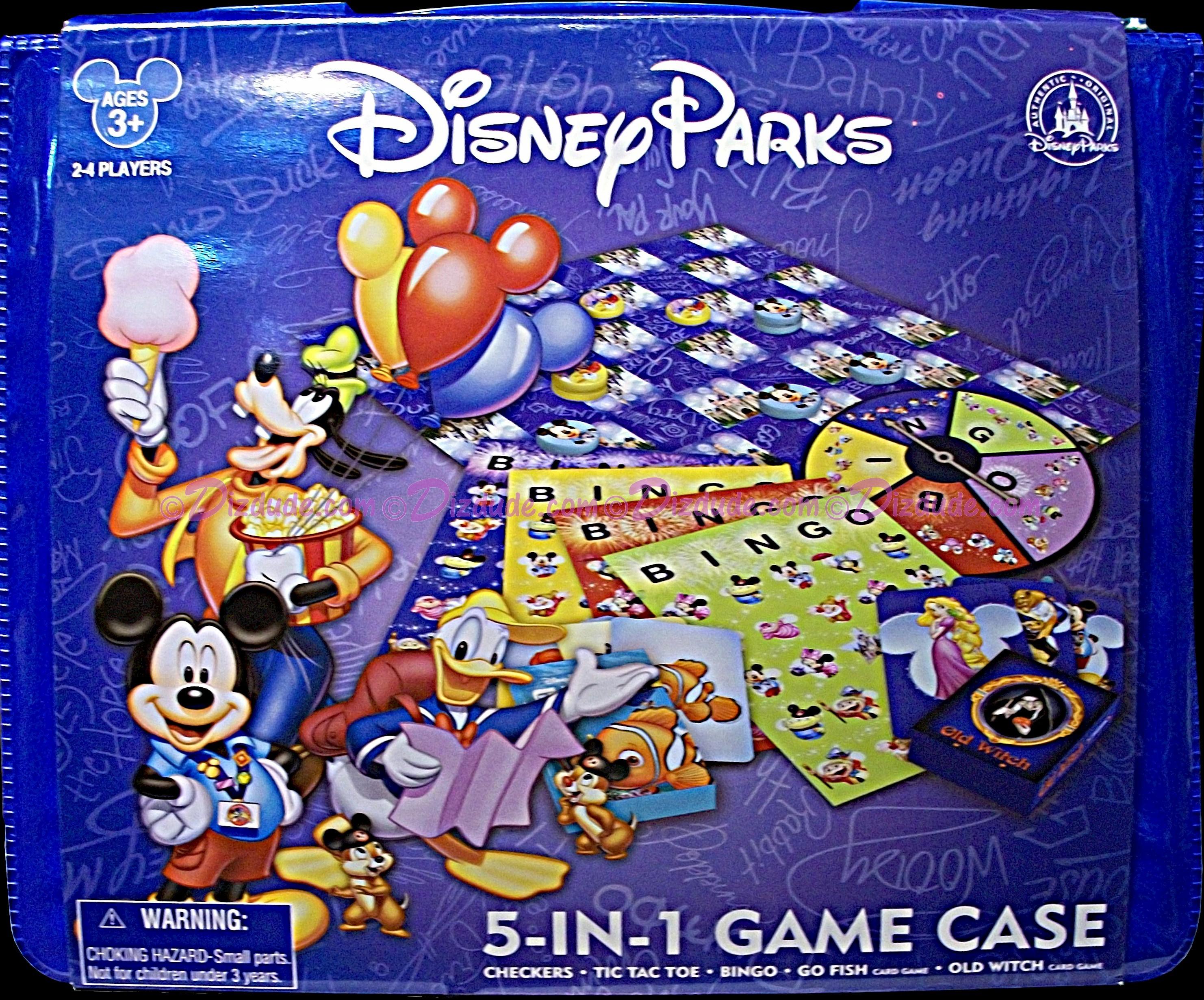 Disney 5-IN-1 Game Case © Dizdude.com