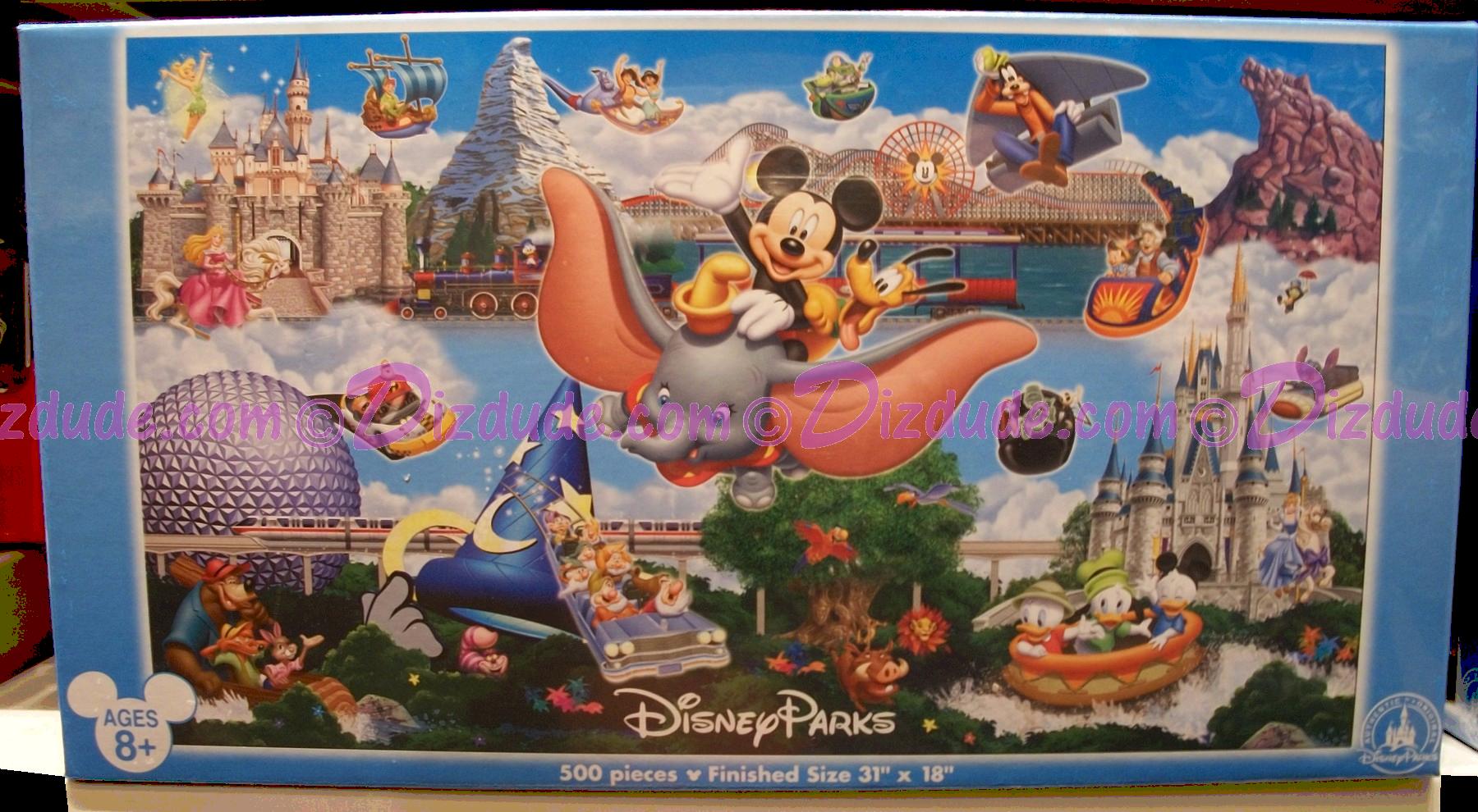 Dizdude disney world panoramic 500 piece jigsaw puzzles disney world panoramic 500 piece jigsaw puzzle dizdude gumiabroncs Image collections