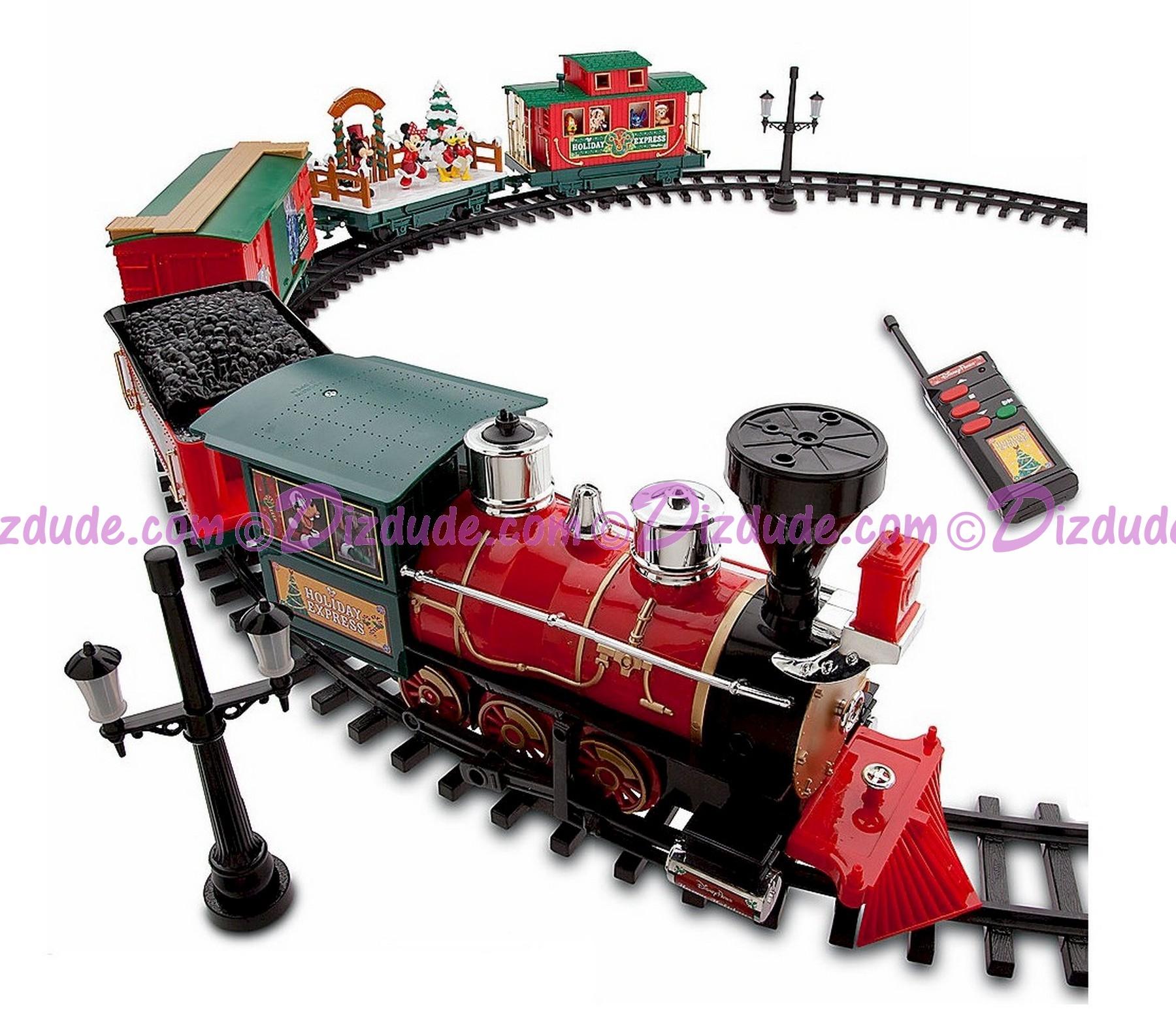 New Disney Holiday Express Christmas Train Set ©Dizdude.com