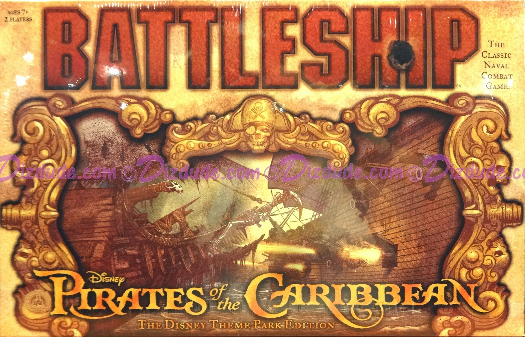 Pirates of the Caribbean BATTLESHIP - Disney Exclusive Theme Park Edition © Dizdude.com