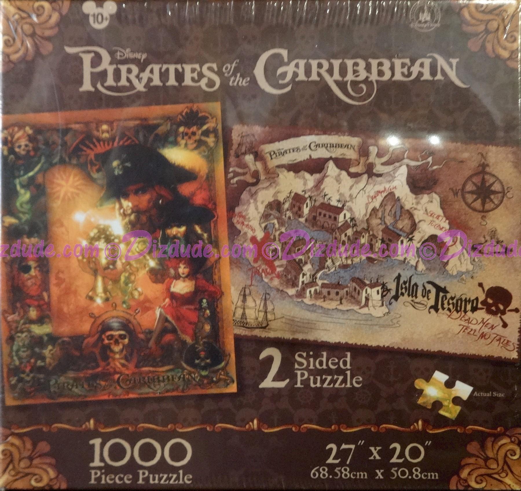 Disney Pirates of the Caribbean Double Sided 1000 Piece Puzzle © Dizdude.com