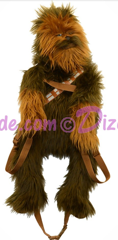 Disney Star Wars Chewbacca Plush Backpack © Dizdude.com
