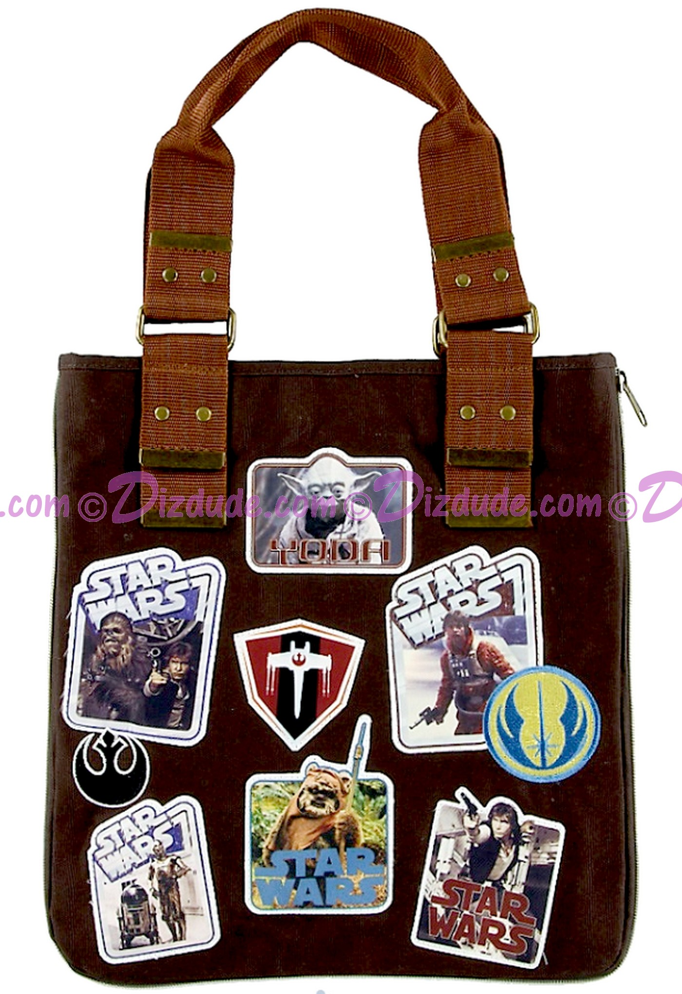 Front of the Disney Star Wars Patches Tote © Dizdude.com