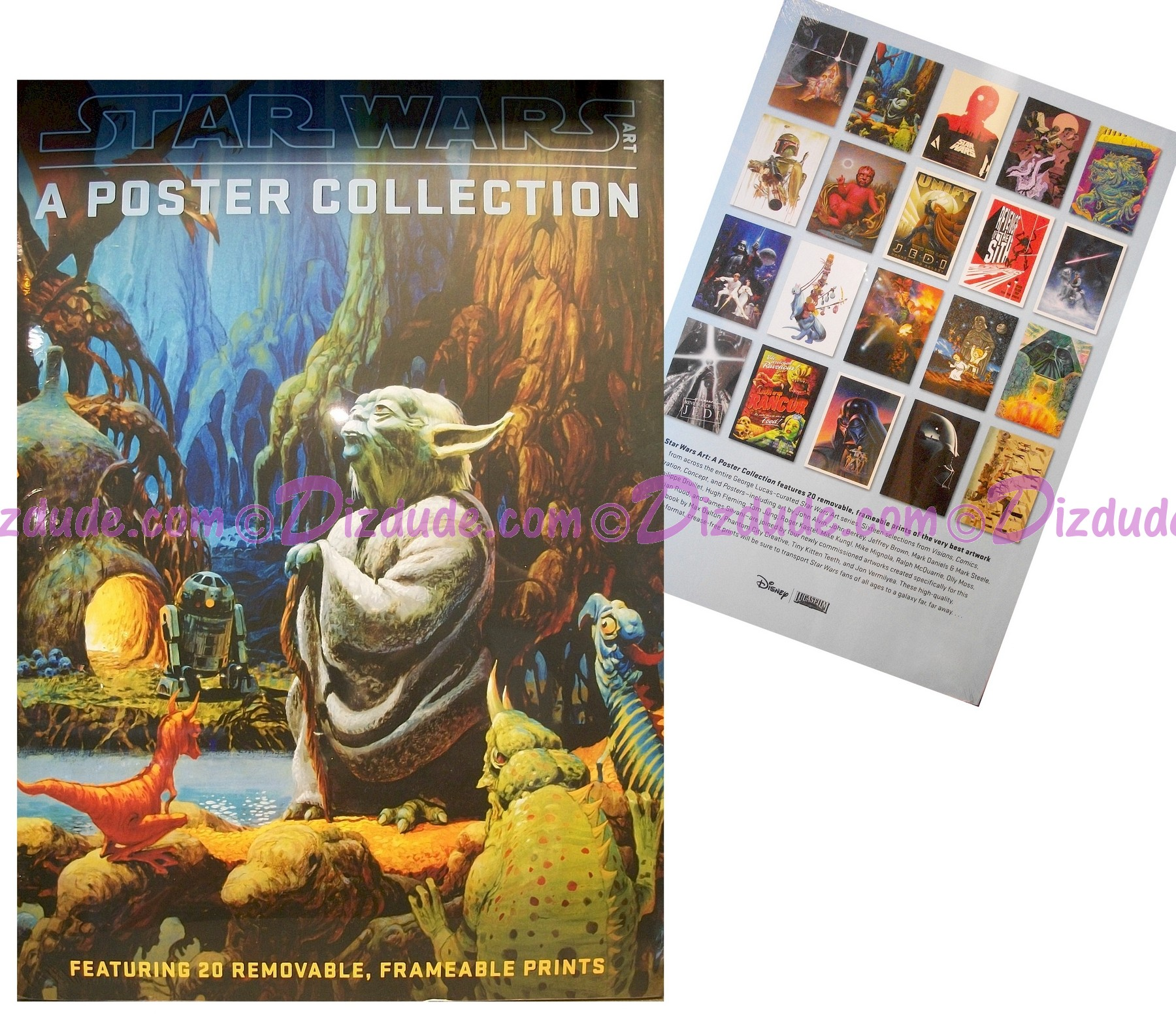 Disney Star Wars Art - A Poster Collection with 20 Frameable Prints © Dizdude.com