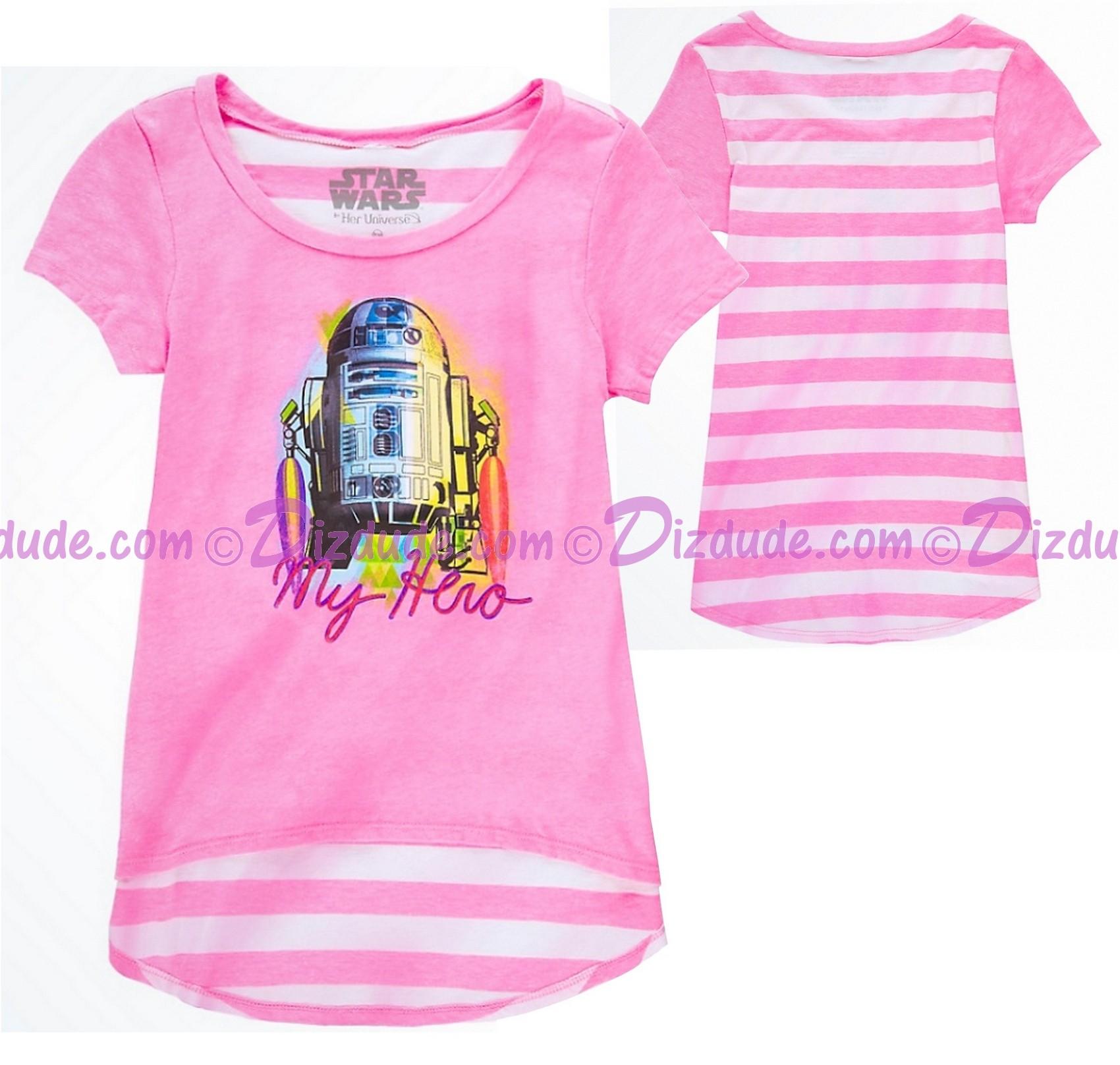 R2-D2 My Hero Youth T-shirt  (Tee, Tshirt or T shirt) - Disney Star Wars © Dizdude.com