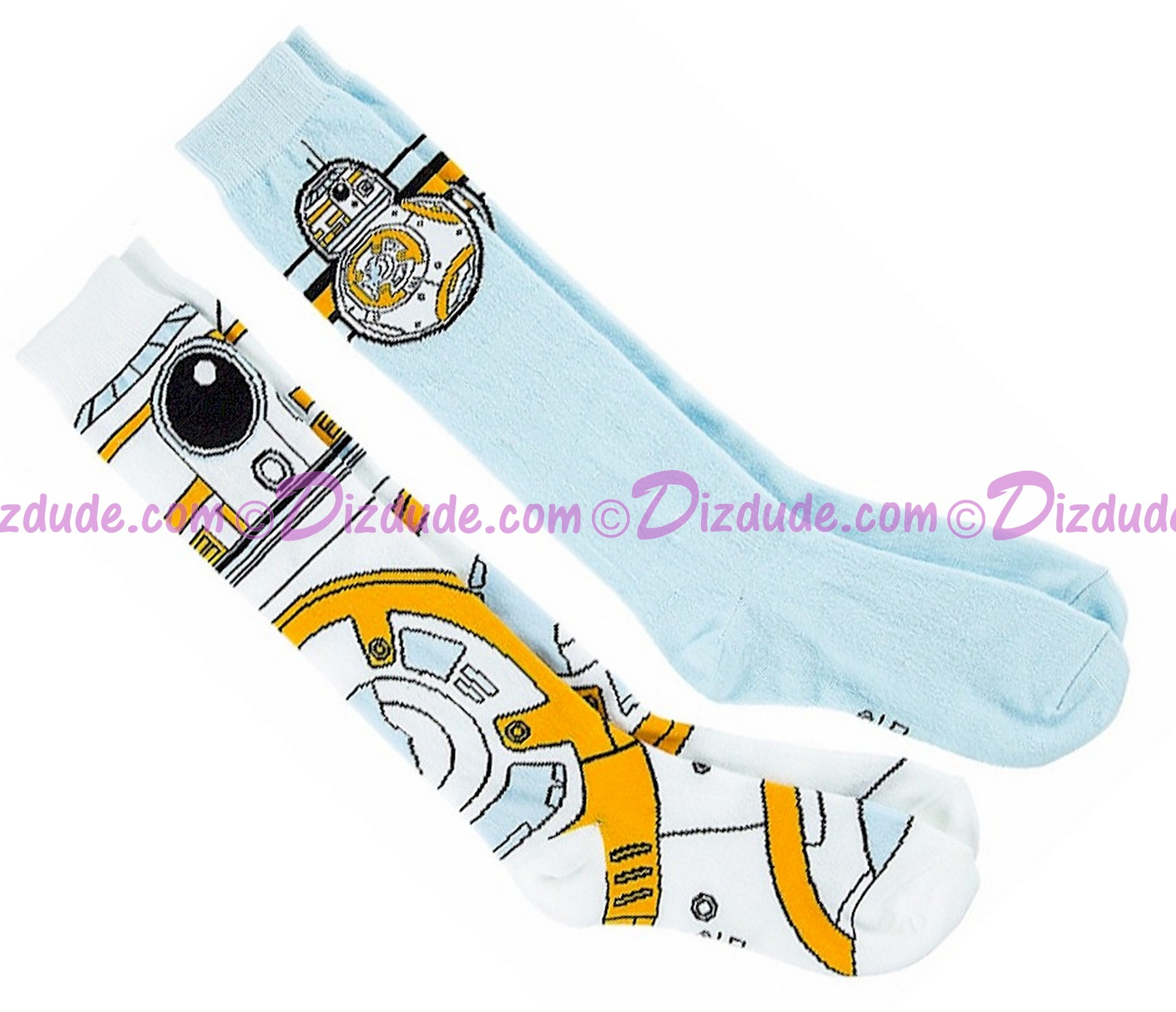 BB-8 Set of 2 Adult Socks ~ Disney Star Wars The Force Awakens