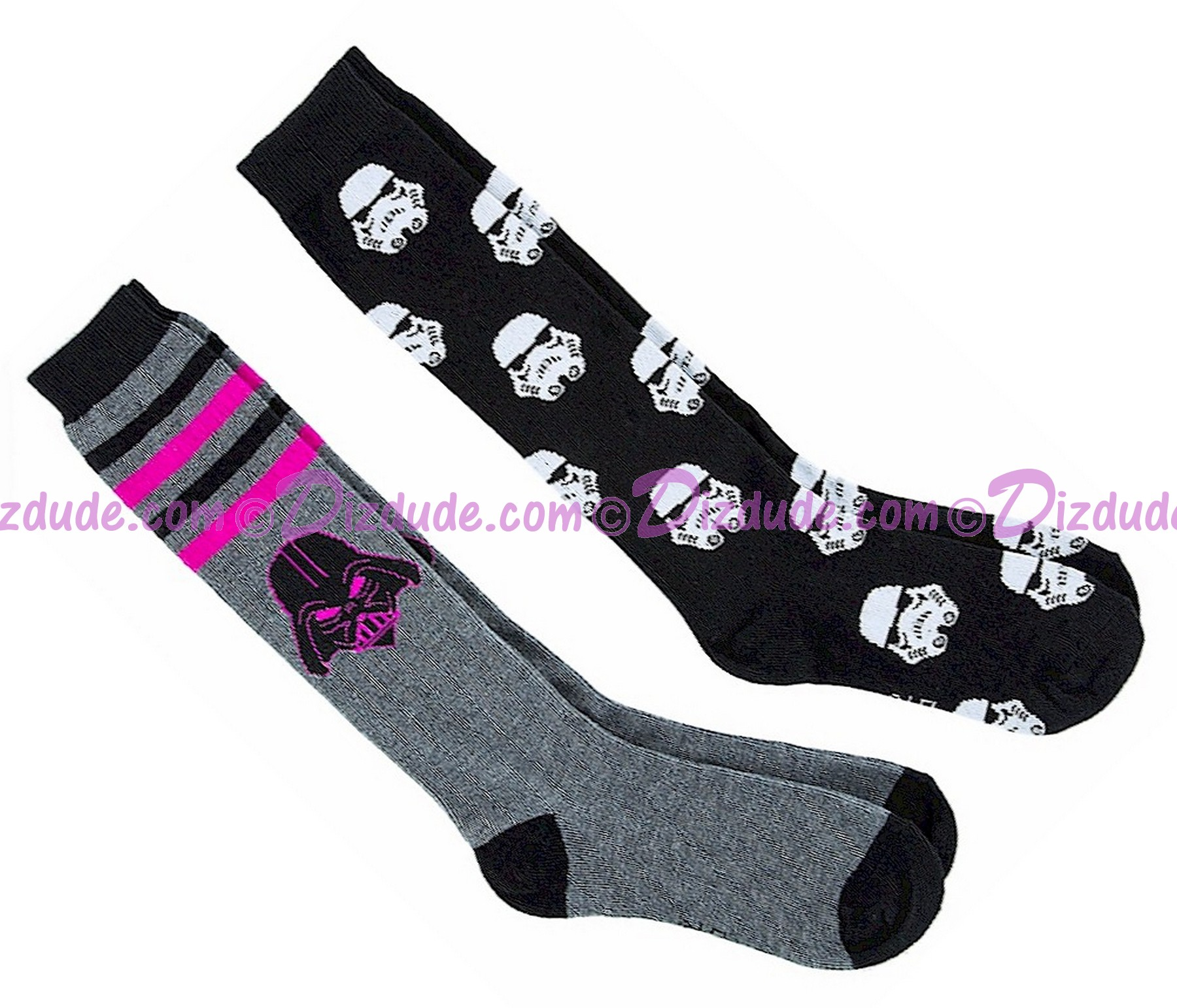 Galactic Empire Set of 2 Adult Socks ~ Disney Star Wars