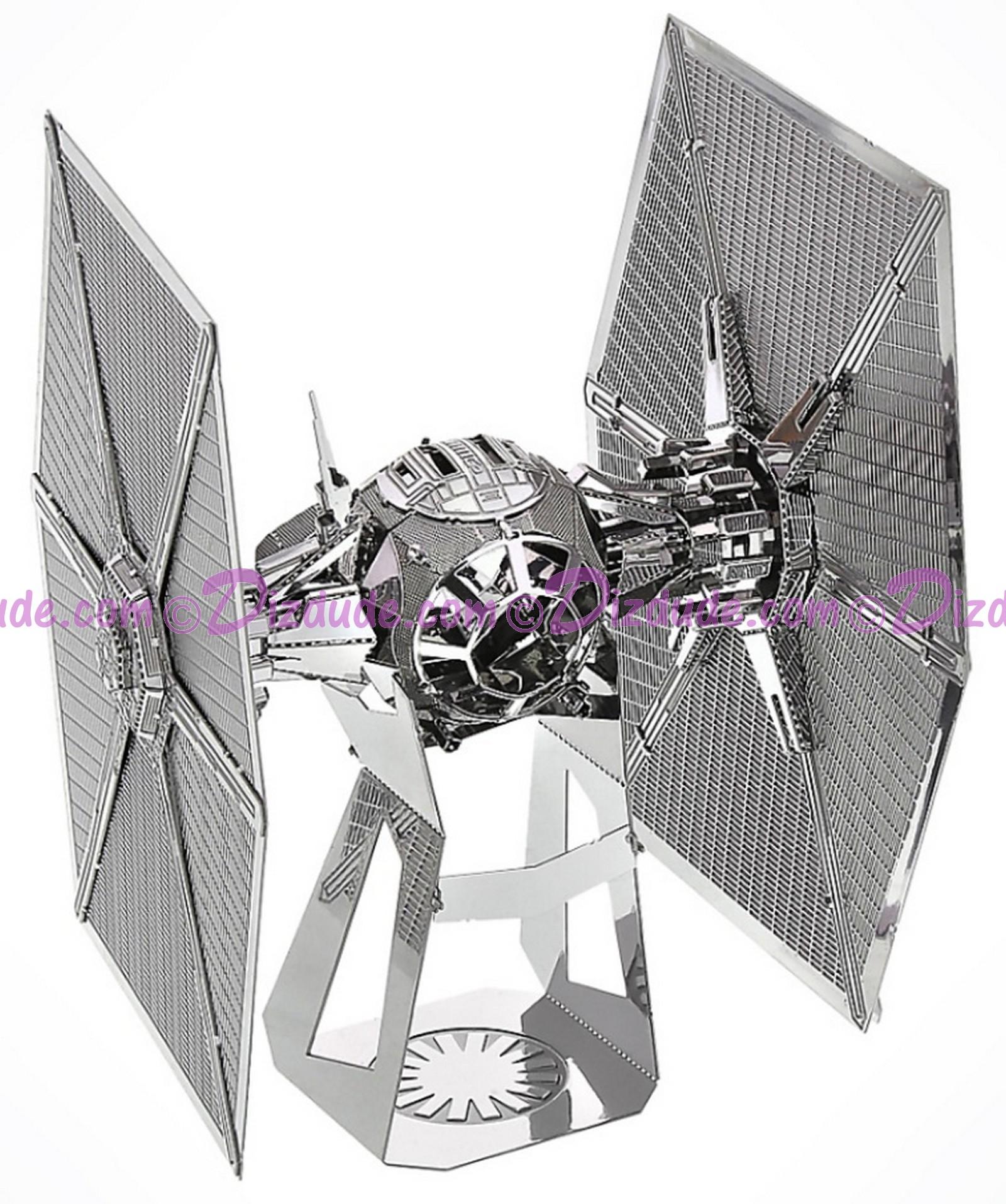 The Force Awakens Special Forces TIE Fighter 3D Metal Model Kit ~ Disney Star Wars © Dizdude.com