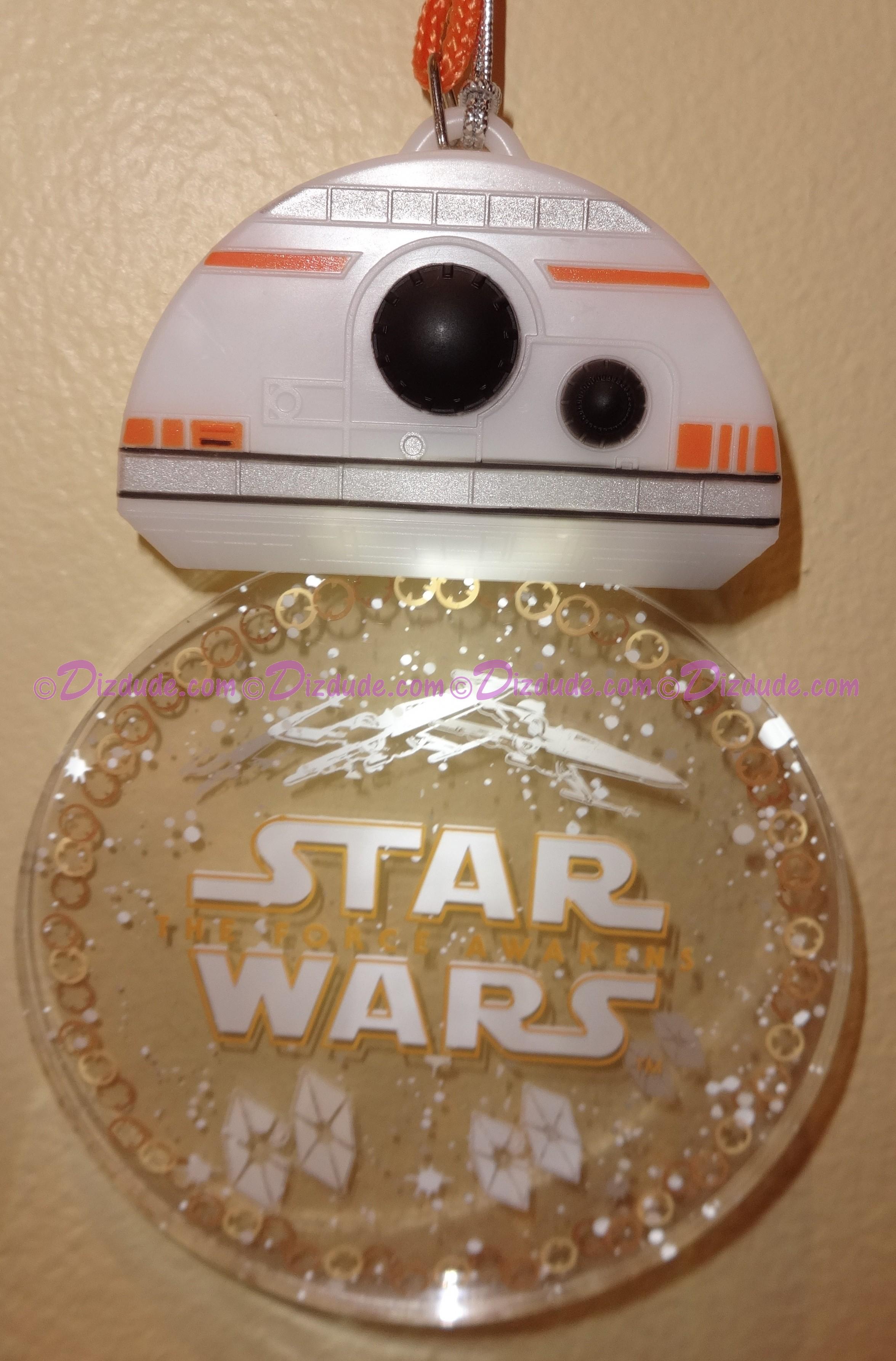 Disney Star Wars: The Force Awakens BB-8 Glow Lanyard or Christmas Ornament © Dizdude.com