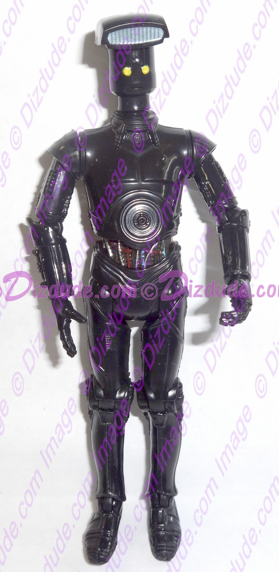 Black Vender Protocol Droid from Disney Star Wars Build-A-Droid Factory © Dizdude.com
