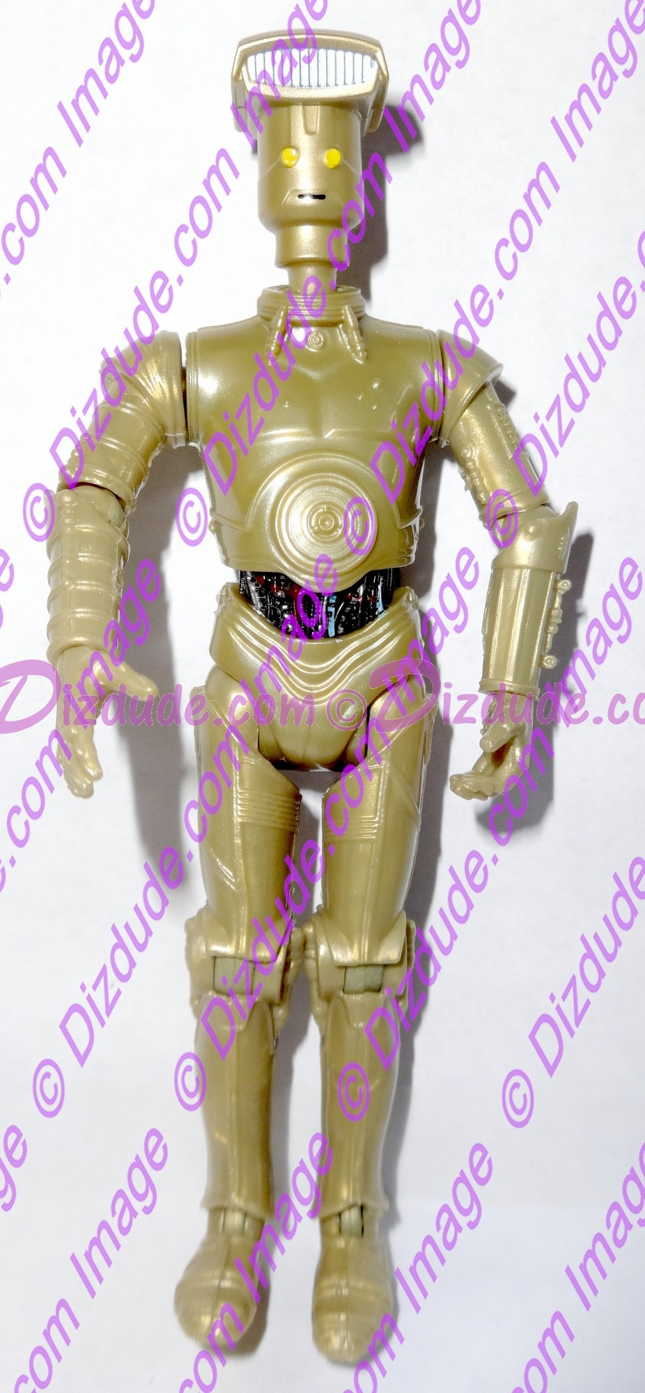 Gold Vender Protocol Droid from Disney Star Wars Build-A-Droid Factory © Dizdude.com