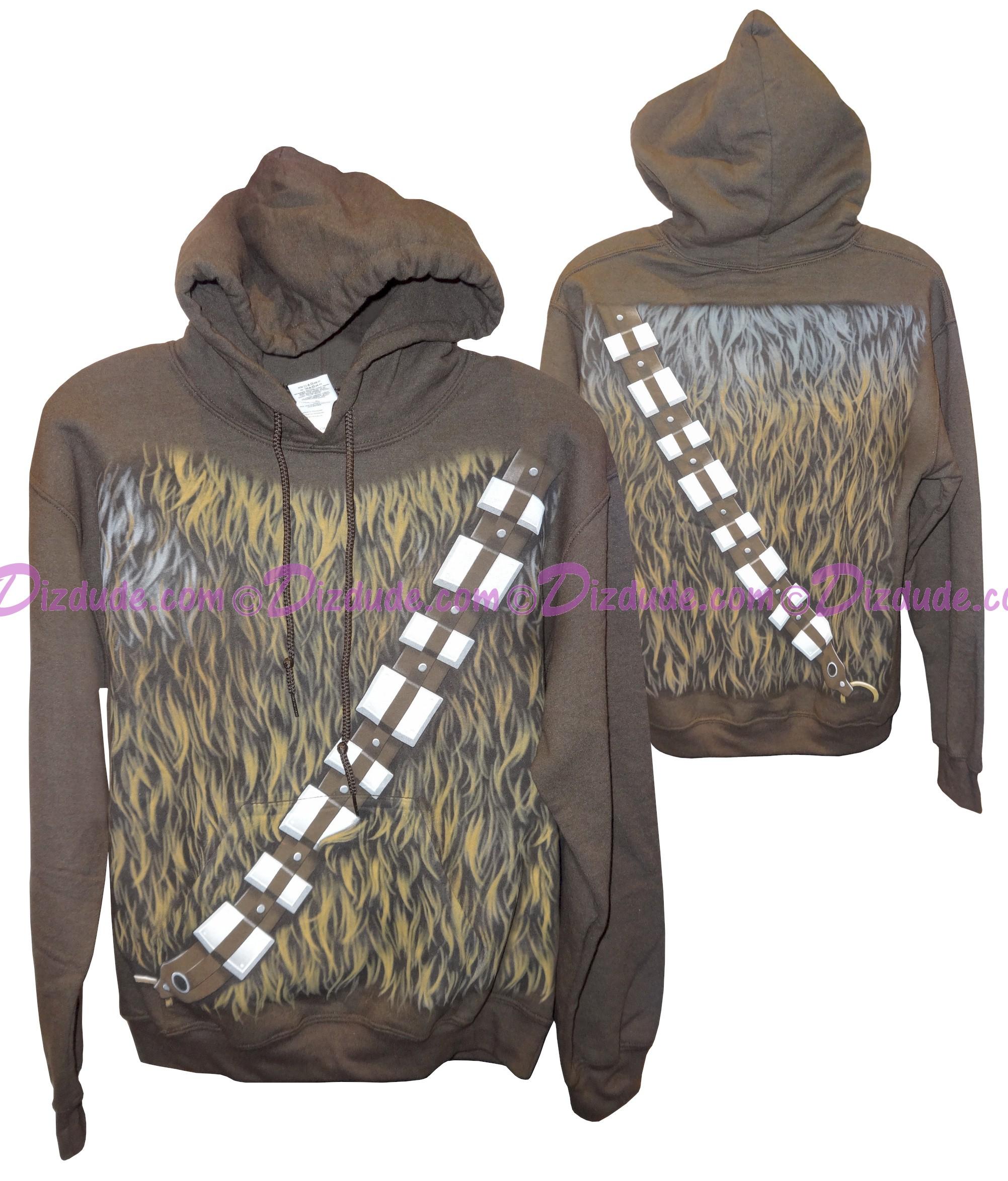 Disney Star Wars: Chewbacca Adult Hoodie Printed Front & Back © Dizdude.com