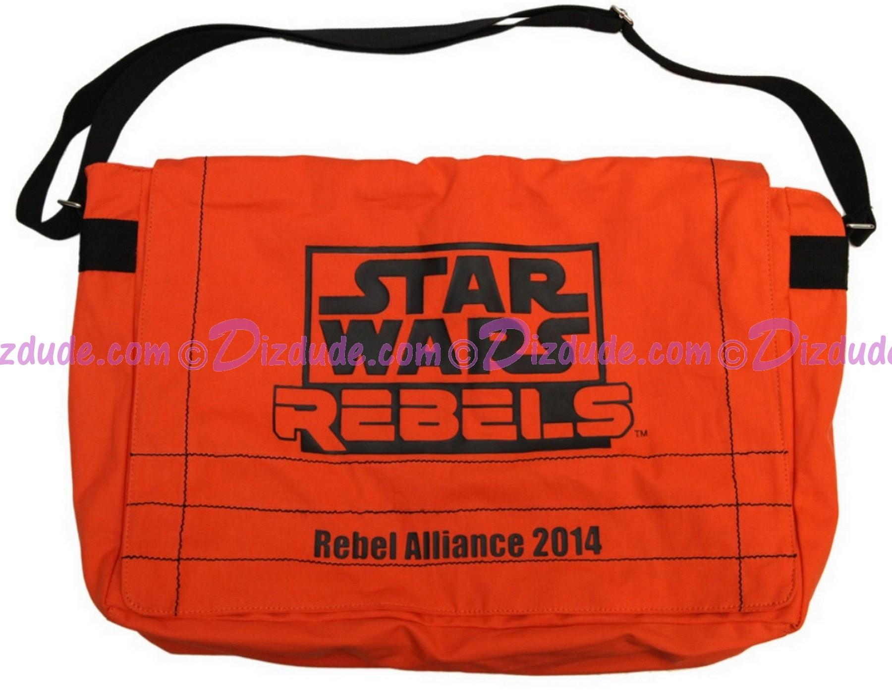 Star Wars REBELS Recruitment event attendee Pack Limited Edition messanger bag - Disney Star Wars Weekends 2014 ~ © Dizdude.com