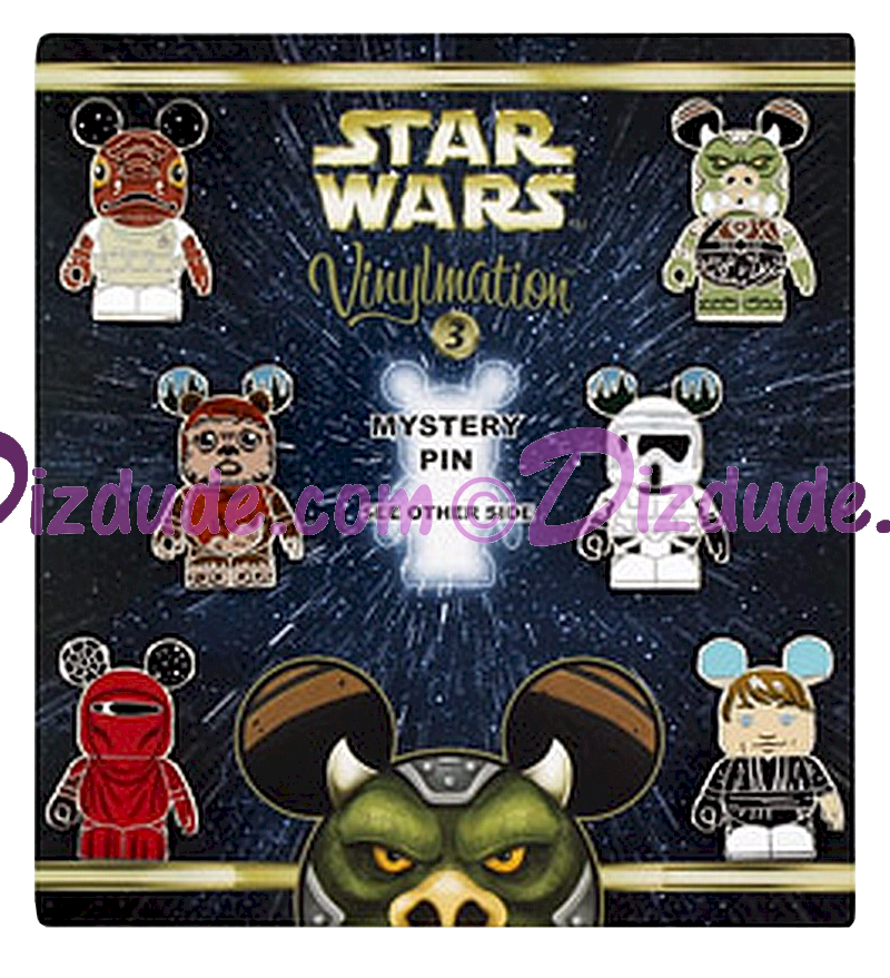 Disney Star Wars Series 3 Vinylmation Mystery Pin Set - Star Wars Weekends 2014 © Dizdude.com