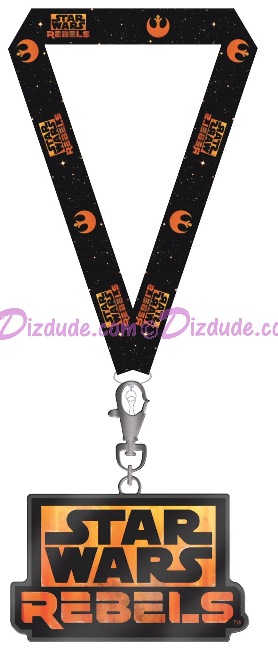 Star Wars REBELS Recruitment Event Attendee Lanyard and Medal Limited Edition - Disney Star Wars Weekends 2014 © Dizdude.com