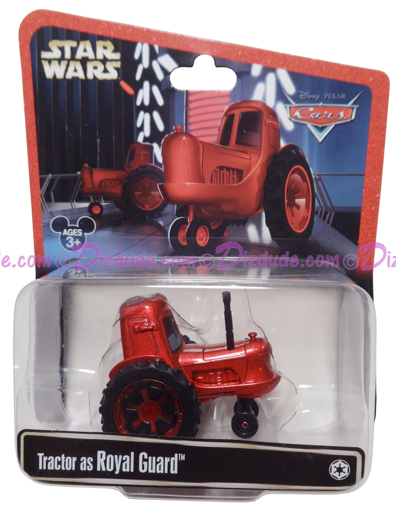 "Disney Pixar ""Cars"" as LucasFilm ""Star Wars"" Tractor as Royal Guard - Series 3 ~ Exclusive Star Wars Weekends 2015 © Dizdude.com"
