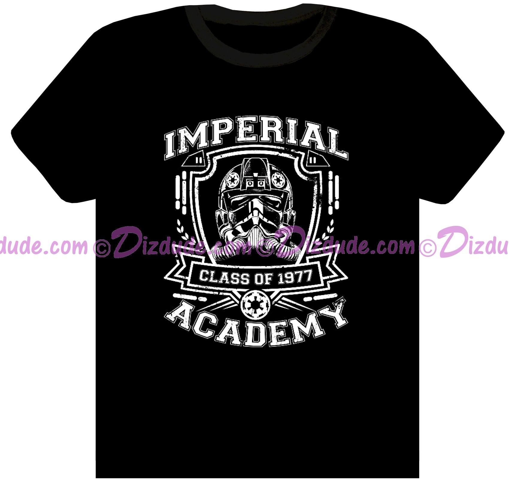 dizdude wars tie pilot imperial academy class of 1977