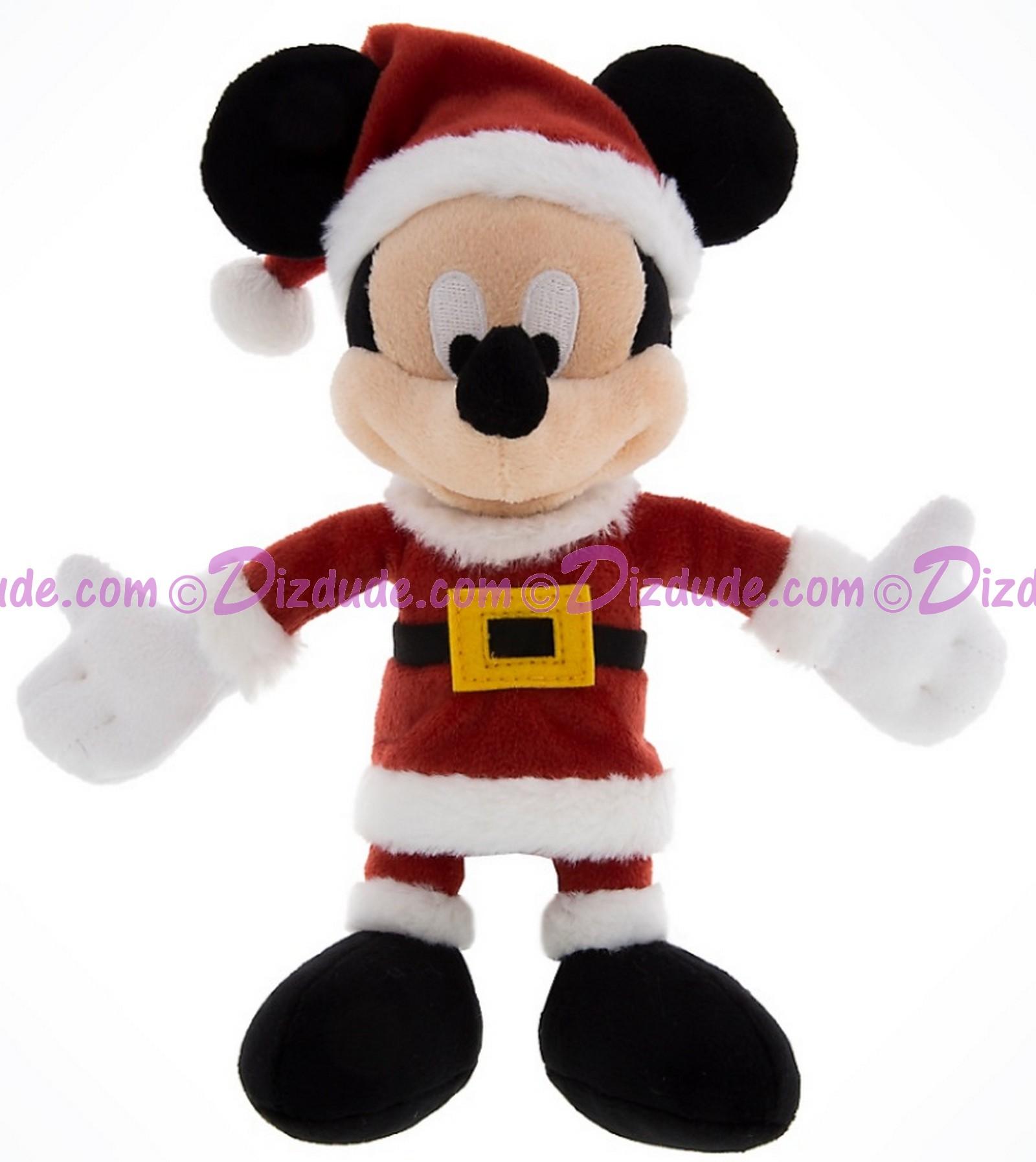 Disney Santa Mickey Mouse 7 inch Plush © Dizdude.com