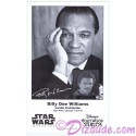 Billy Dee Williams Who Played Lando Calrissian Presigned Official Star Wars Weekends 2013 Celebrity Collector Photo