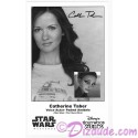 Catherine Taber the voice of Padme Amidala Presigned Official Star Wars Weekends 2014 Celebrity Collector Photo