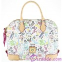 Disney Dooney & Bourke Walk in the Park Sketch Satchel Handbag