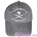 "Pirates of the Caribbean ""The Beatings Will Continue Until Moral Improves"" Embroidered Hat ~ Disney Magic Kingdom"
