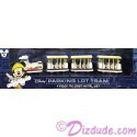 Walt Disney World Parking Lot Tram 4 Piece Die Cast Metal Set ~ Monorail Accessory