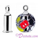 "Disney Pandora Sterling Silver ""Earring Barrel"" - Use Your Charms as Earrings"