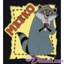 Walt Disney World Cast Lanyard Series 2 ~ Pets of Stars Meeko Pin