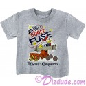 Vintage Disney Pirate Donald Duck I've Got A Short Fuse Toddler T-shirt (Tee, Tshirt or T shirt)