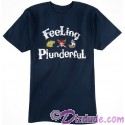 Vintage Disney Pirate Feeling Plunderful Adult T-shirt (Tee, Tshirt or T shirt)