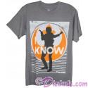 """Disney Star Wars Han Solo """"I Know"""" Adult T-Shirt (Tshirt, T shirt or Tee)"""