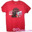 Darth Vader Dueling Luke Skywalker Adult T-Shirt (Tshirt, T shirt or Tee) - Disney's Star Wars