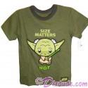 "Yoda ""Size Matters NOT"" Toddler T-Shirt (Tshirt, T shirt or Tee) - Disney's Star Wars"
