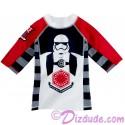 First Order Youth Rashguard Long Sleeved Swim Shirt - Disney Star Wars: The Force Awakens