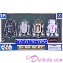 Star Wars Rogue One Set of 4 Astromech DROID FACTORY Series 2 Action Figures 3¾; Inch Multi Pack with C2-B5, R2-BHD, R3-M2 and R5-SK1