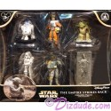 Star Wars The Empire Strikes Back Collectible Figures ~ Disney Star Wars Weekends 2015
