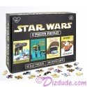 Disney Star Wars Four 500 Piece Poster Puzzles