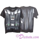 Disney Star Wars Darth Vader Armour Adult T-Shirt (Tshirt, T shirt or Tee) Printed Front & Back