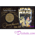 "4 Autographs on ""BOUNTY HUNTERS""  Disney Star Wars Weekends 2003 Collectors Bronze Coin 2003 ~ Actors Jeremy Bullock (Boba Fett) Michonne Bouriague (Aurra Sing) Daniel Logan (Young Bob Fett)"