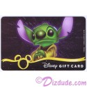 Star Wars Gift Card with Stitch as Yoda ~ Disney Star Wars Weekends 2013