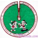 Disney Mickey And Minnie Christmas Holiday Tree Skirt