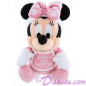 Disney Santa Minnie Baby's First Christmas 9inch Soft Plush