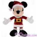 Disney Santa Mickey Mouse 7 inch Plush