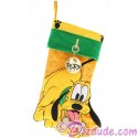 Disney Pluto Plush Christmas Stocking
