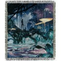 "Avatar Pandora Landscape Tapestry Woven Throw 60"" X 50"" - Disney Pandora – The World of Avatar"
